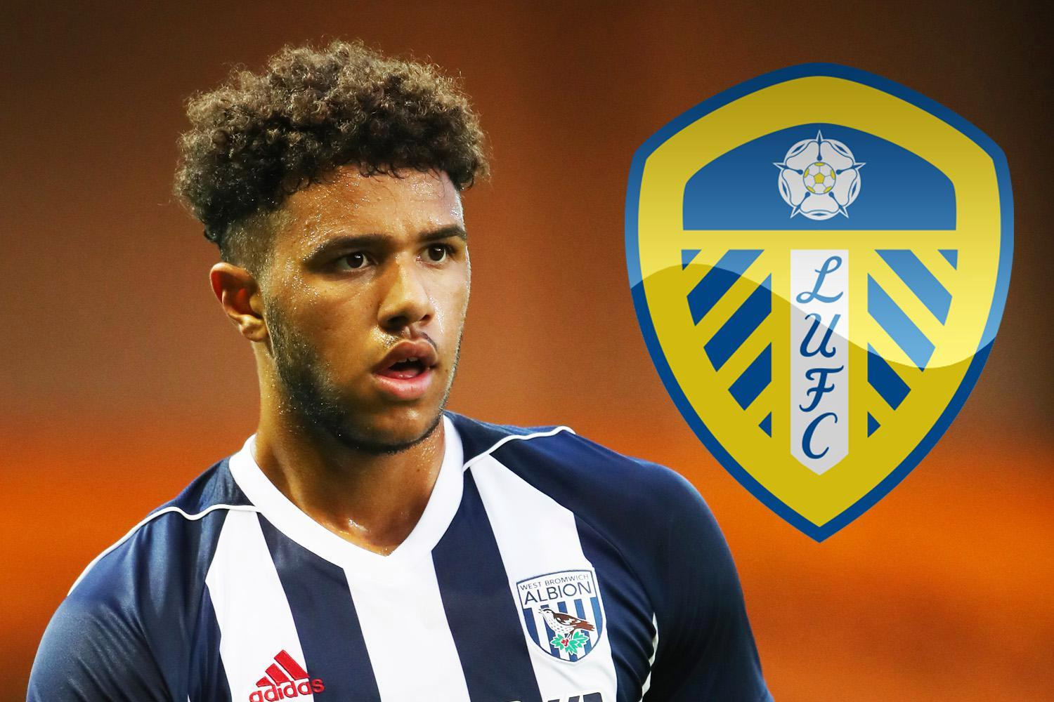 West Brom reject Leeds United £4million for teenage striker Tyler Roberts with Ranger and Marseille monitoring situation