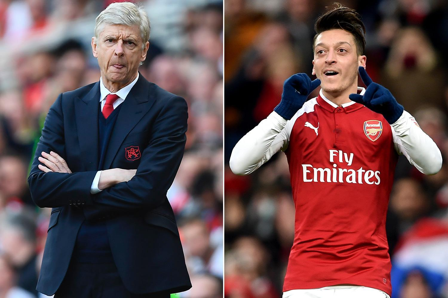 Arsenal boss Arsene Wenger 'increasingly confident' of securing new Mesut Ozil contract