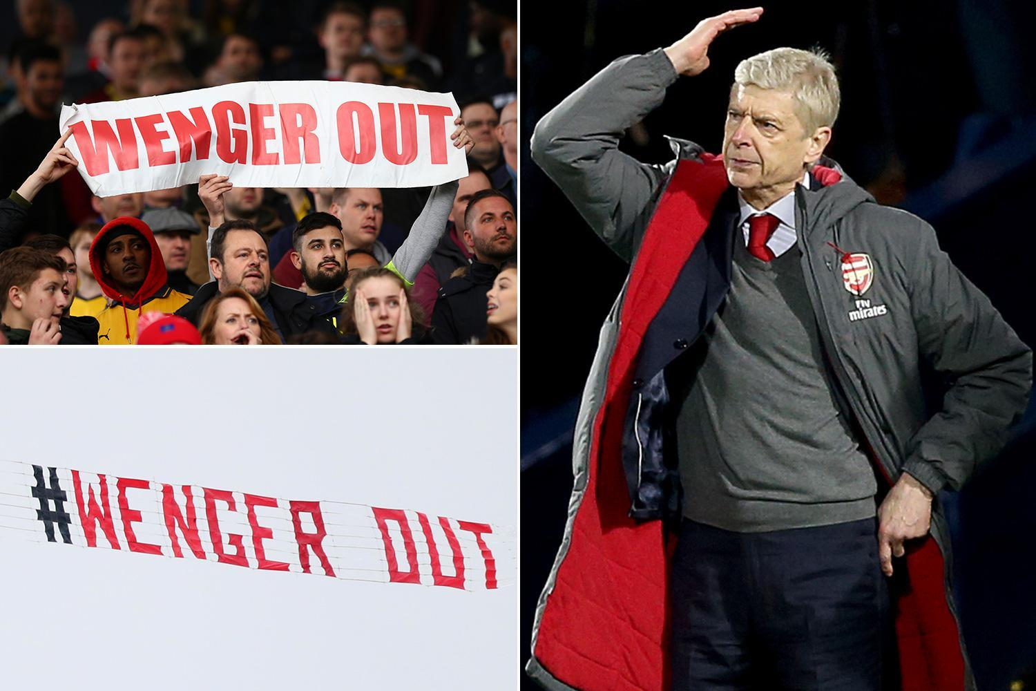 Arsenal boss Arsene Wenger says he is going nowhere as whispers calling for him to quit begin to surface… yet again