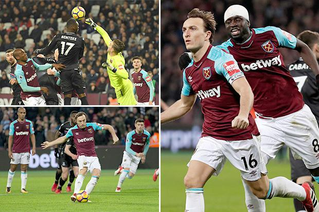 West Ham 1 Crystal Palace 1: Injury-ravaged Hammers share the spoils with relegation-threatened Eagles