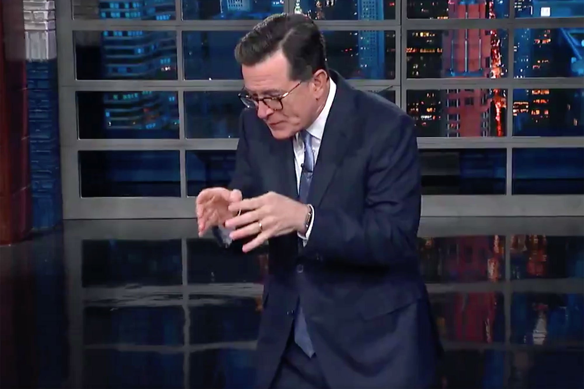 Stephen Colbert finally agrees with Trump about something