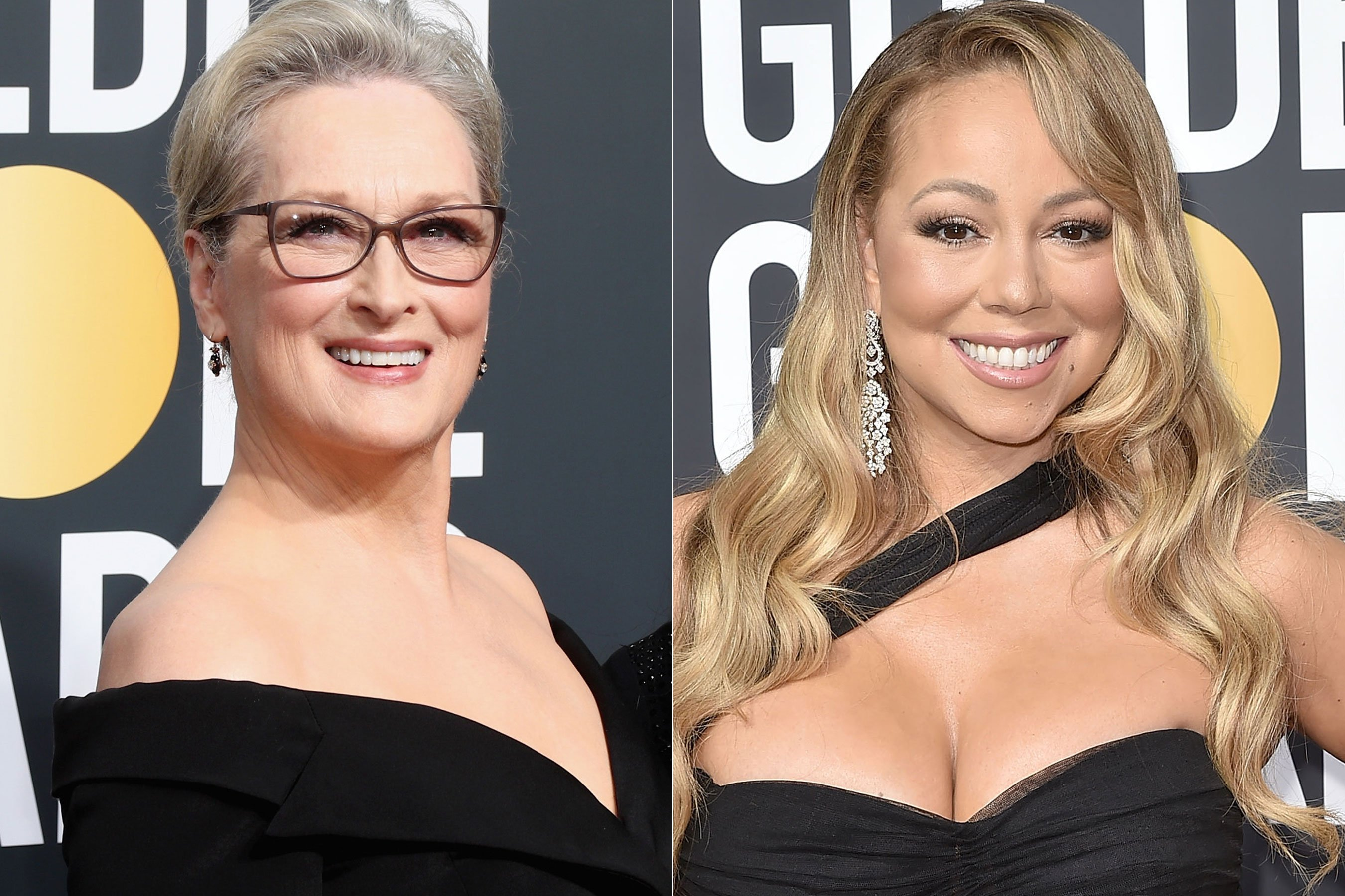 Meryl Streep jokes about Mariah Carey at Golden Globes: 'B—- stole my seat'