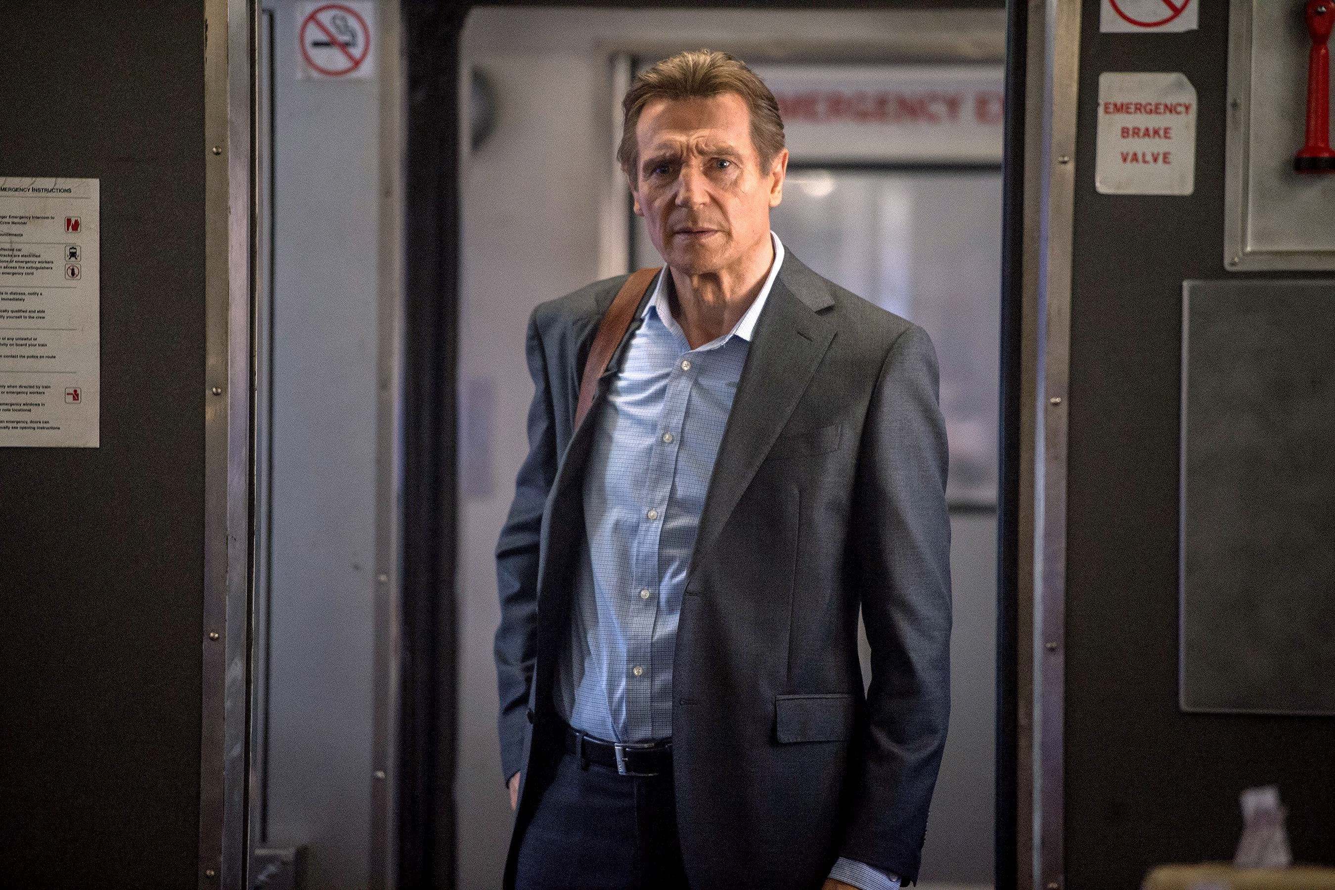 The Commuter review: Liam Neeson film is a familiar thriller