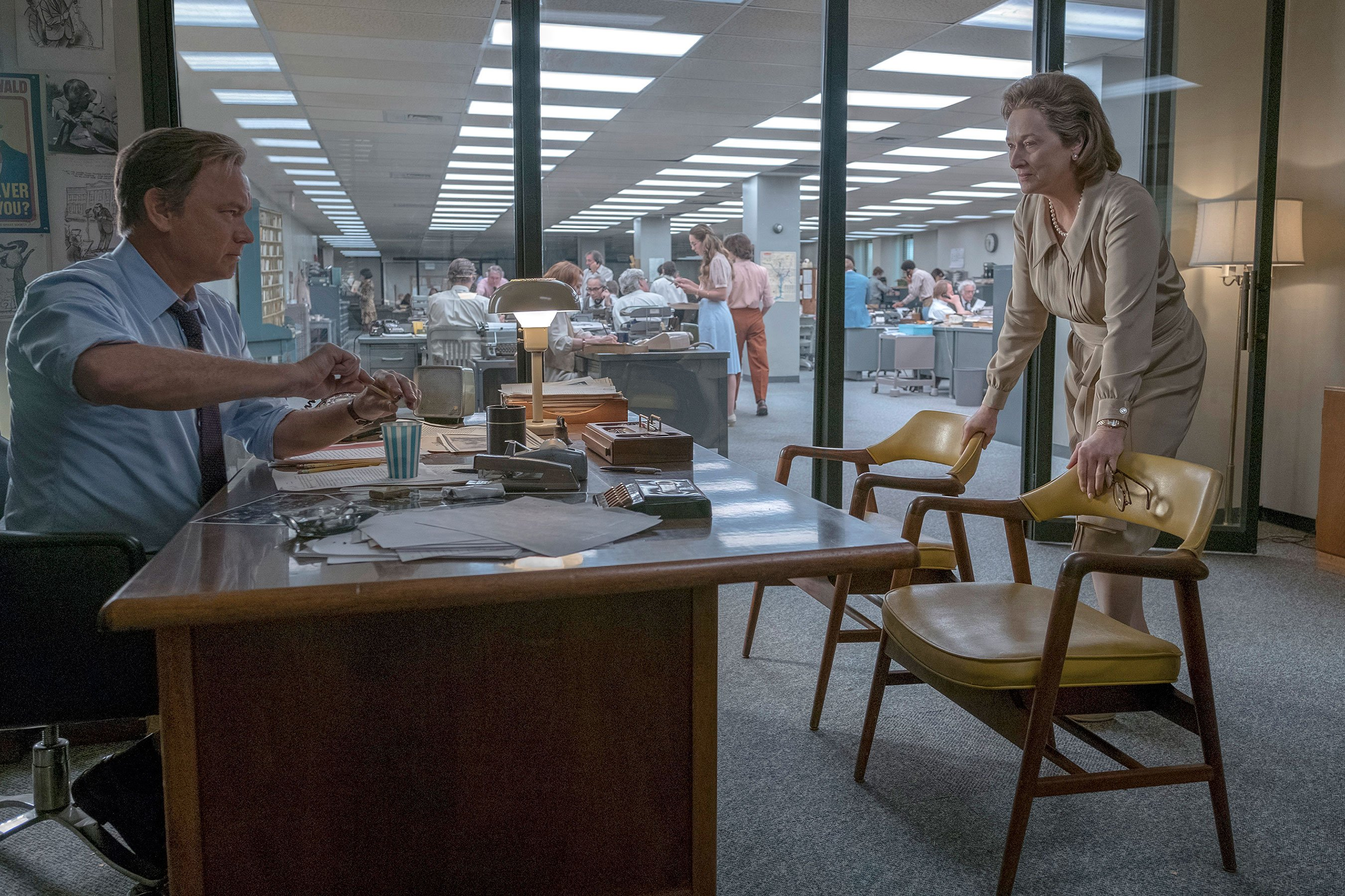 Meryl Streep, Tom Hanks on The Post, Spielberg, and power of the press