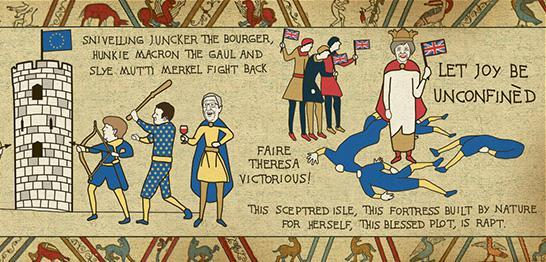 Download The Sun's dramatic Bye-EU Tapestry marking our historic Brexit victory