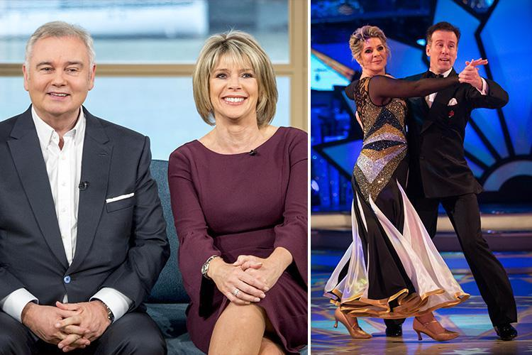 Strictly Come Dancing star Ruth Langsford and husband Eamonn Holmes set to host Channel 5 chat show