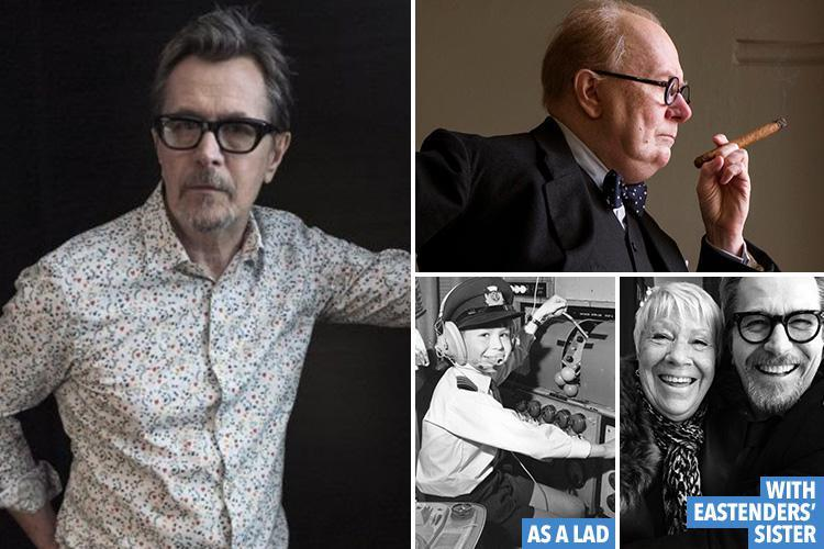 Gary Oldman overcame an abusive dad, alcoholism and rejection from acting school — and is now tipped for the Best Actor Oscar