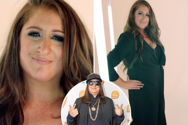 Honey G looks unrecognisable as she's given a sensational makeover for TV show