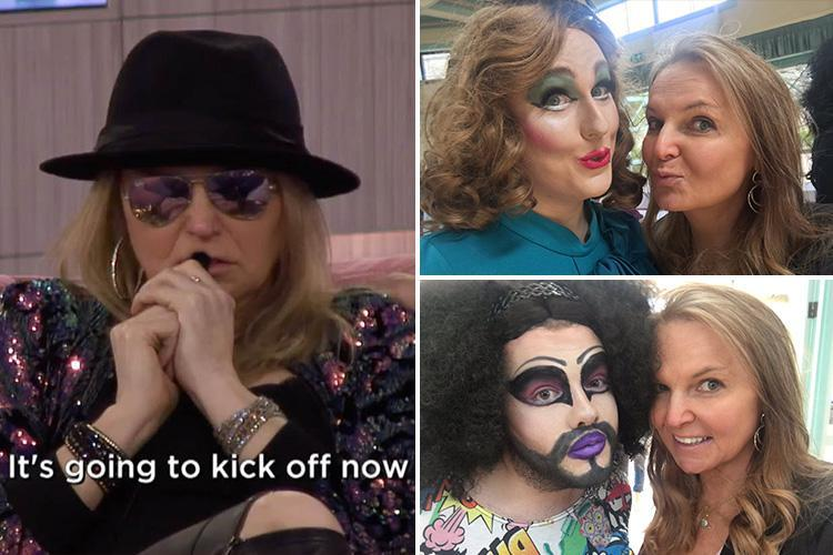 India Willoughby branded an 'attention seeking liar' as pictures emerge of her with drag queens following huge 'phobia' bust-up