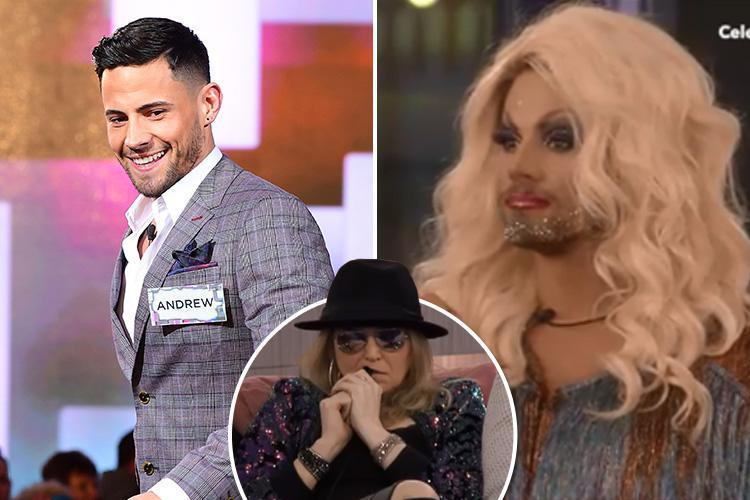 Celebrity Big Brother spoilers: Andrew Brady gets an incredible makeover – but India Willougby upsets housemates by claiming she has a phobia of drag queens