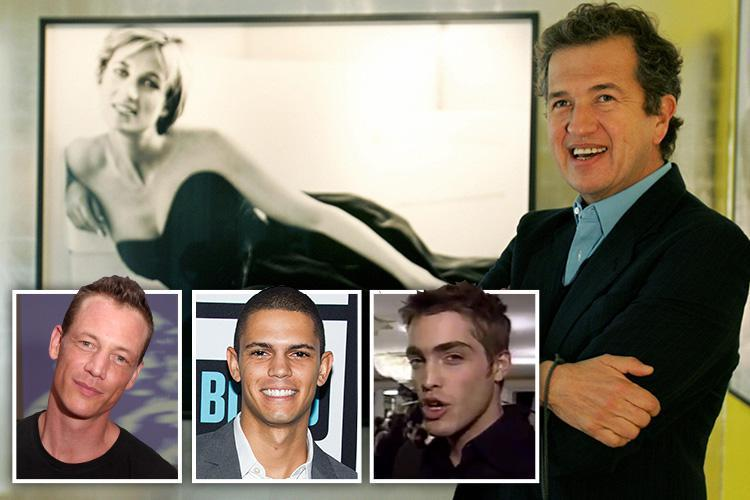 Princess Diana's favourite photographer Mario Testino accused of molesting string of male models