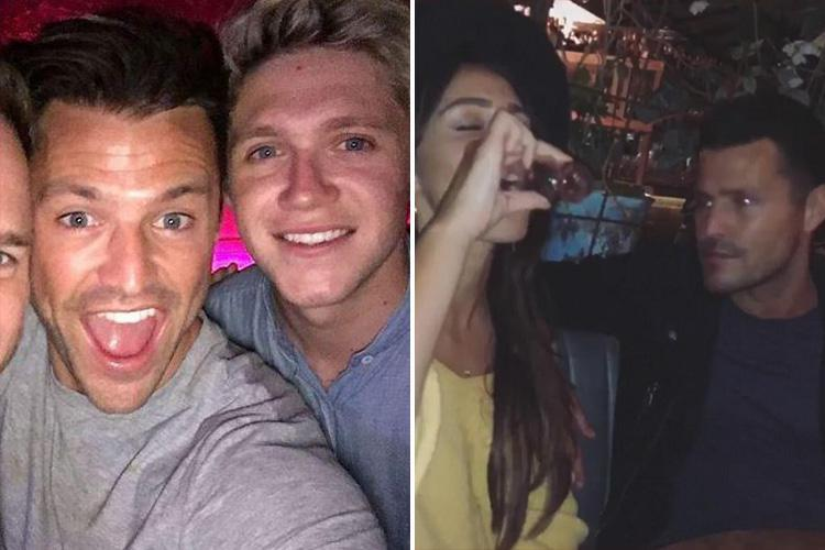 Mark Wright reveals he owes his Hollywood success to Niall Horan as he and wife Michelle Keegan party in Las Vegas