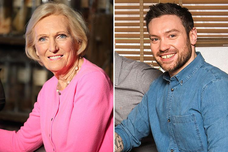 Mary Berry's BBC cooking show co-star Dan Doherty has been caught using gay jibes on Twitter