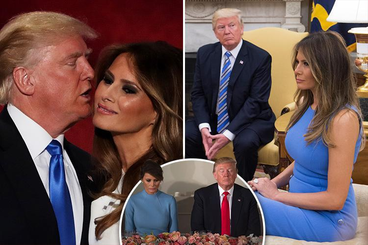 'Inconsolable' Melania couldn't cope with marriage to 'chronically unfaithful' President