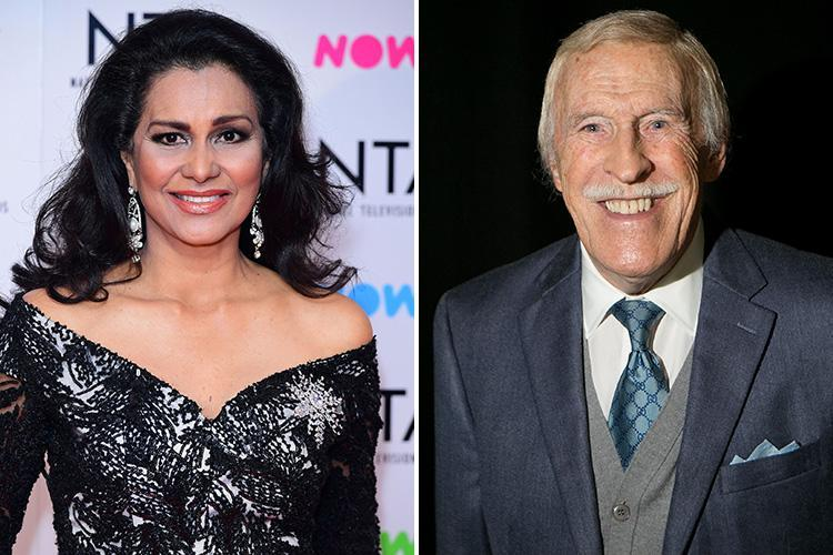 Bruce Forsyth's widow made her first public appearance since his death at the NTAs