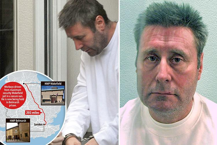 Victims rage as cabbie rapist John Worboys moved back to London ahead of release