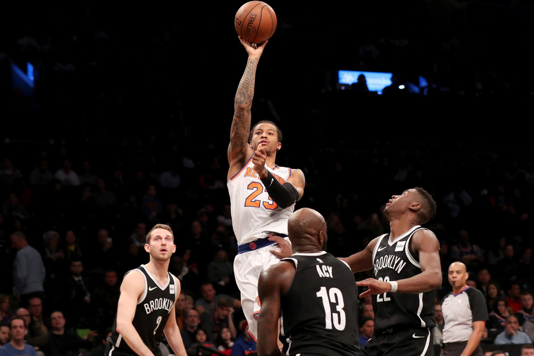 Trey Burke gives a brief glimpse at everything Knicks wanted