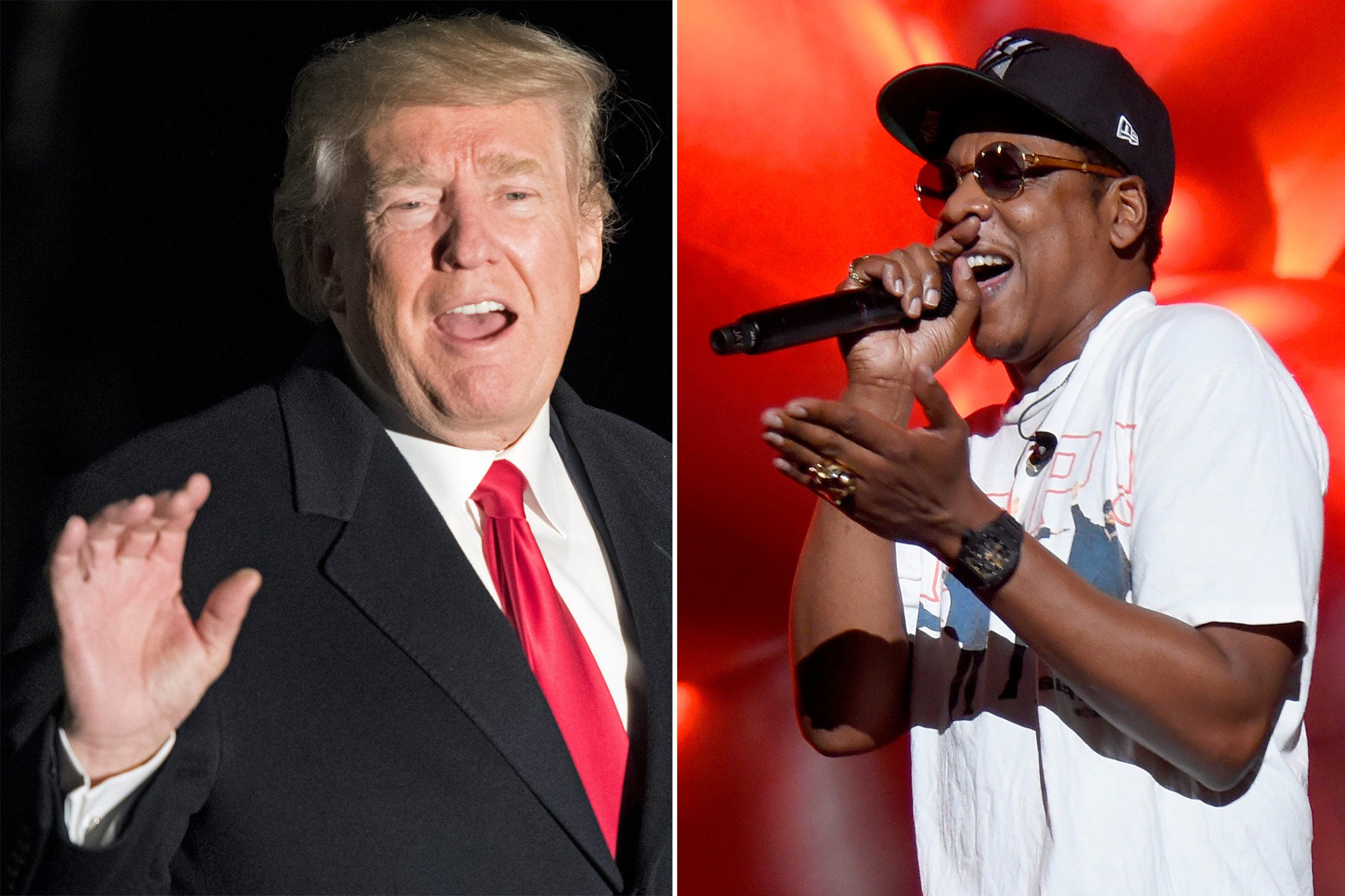 Trump wages Twitter war with Jay Z
