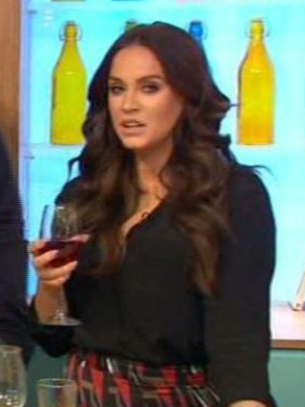 Vicky Pattison has Sunday Brunch fans in hysterics after awkward moment