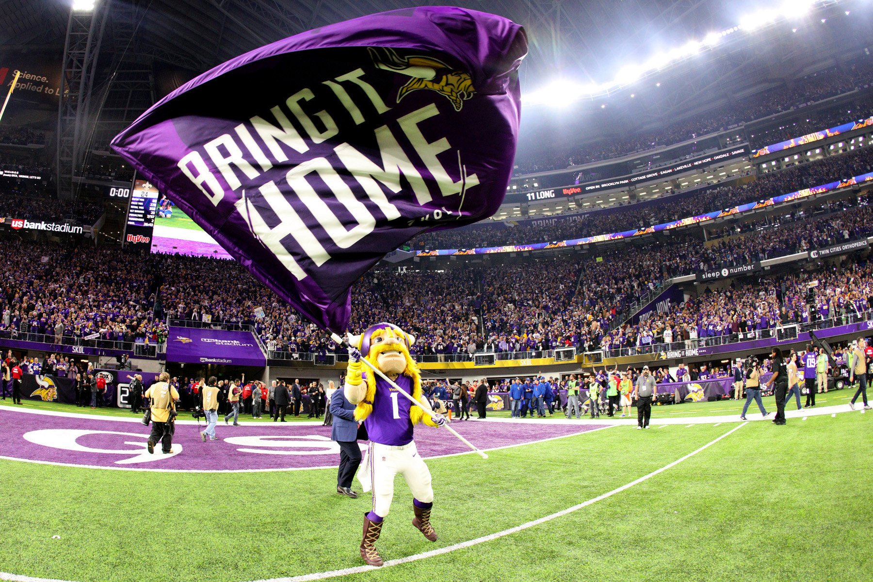 Vikings have NFL history within their grasp