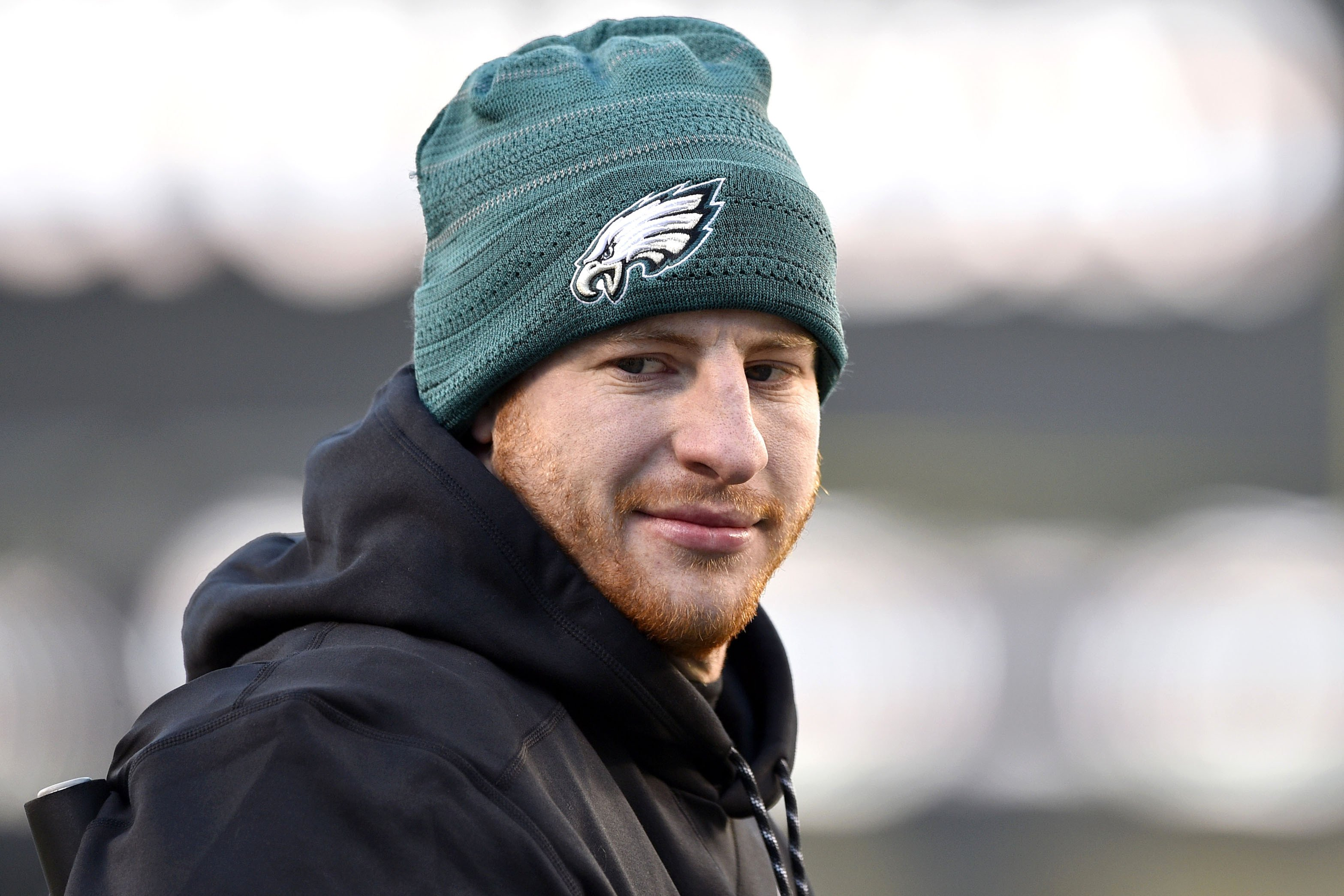"Carson Wentz pushing to be ""ready  for Week 1′"