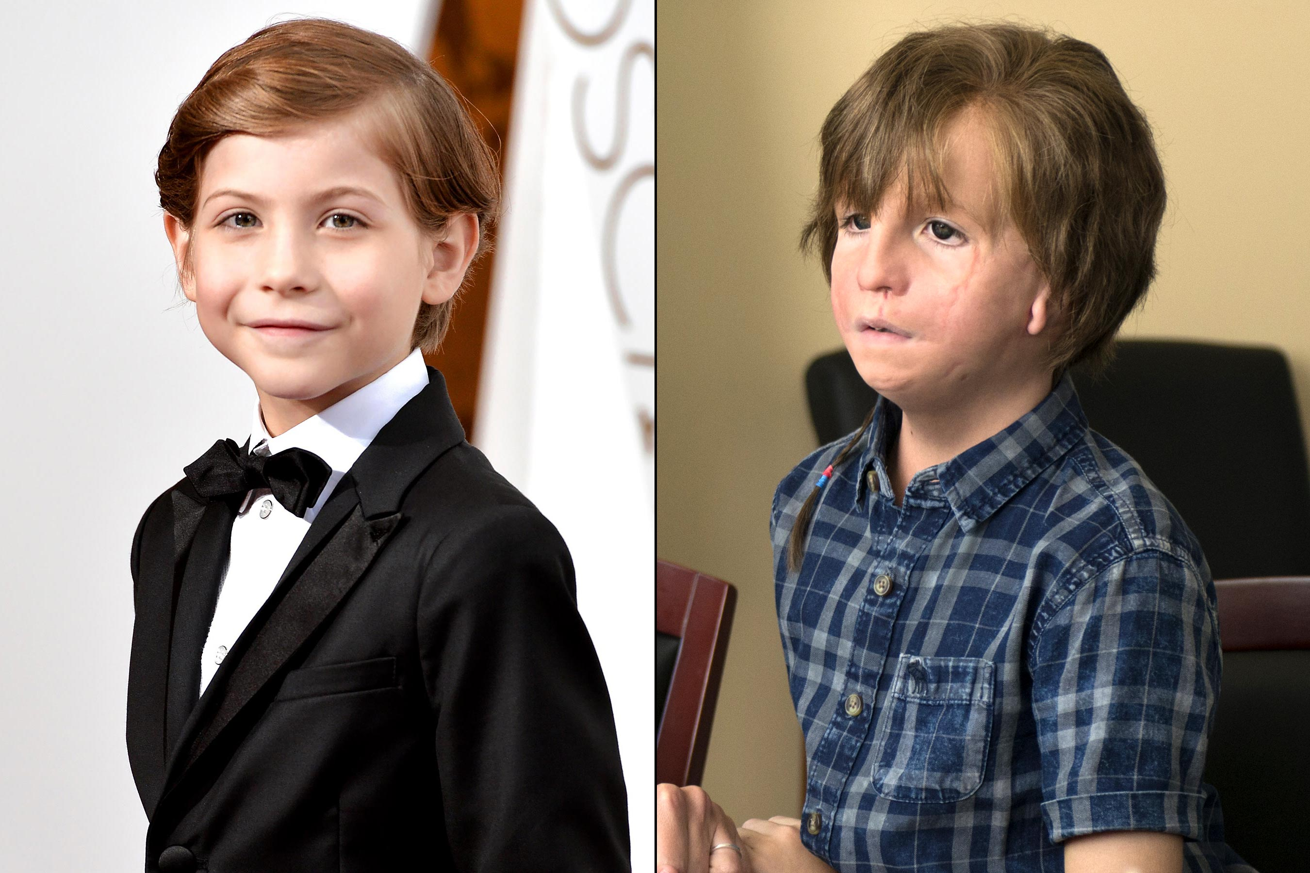 See Jacob Tremblay's prosthetic transformation into his 'Wonder' character