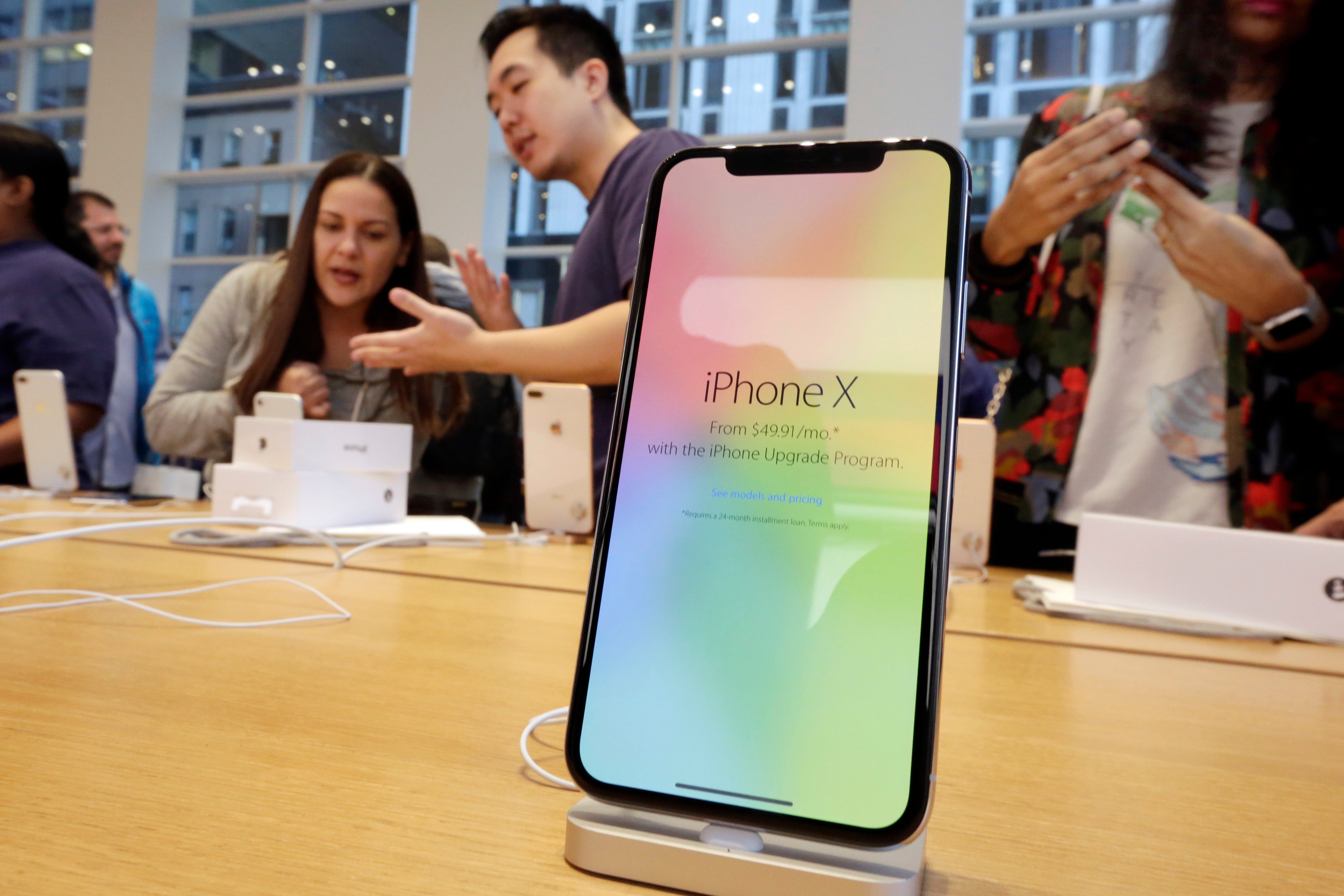 Apple reports biggest ever profit thanks to iPhone X