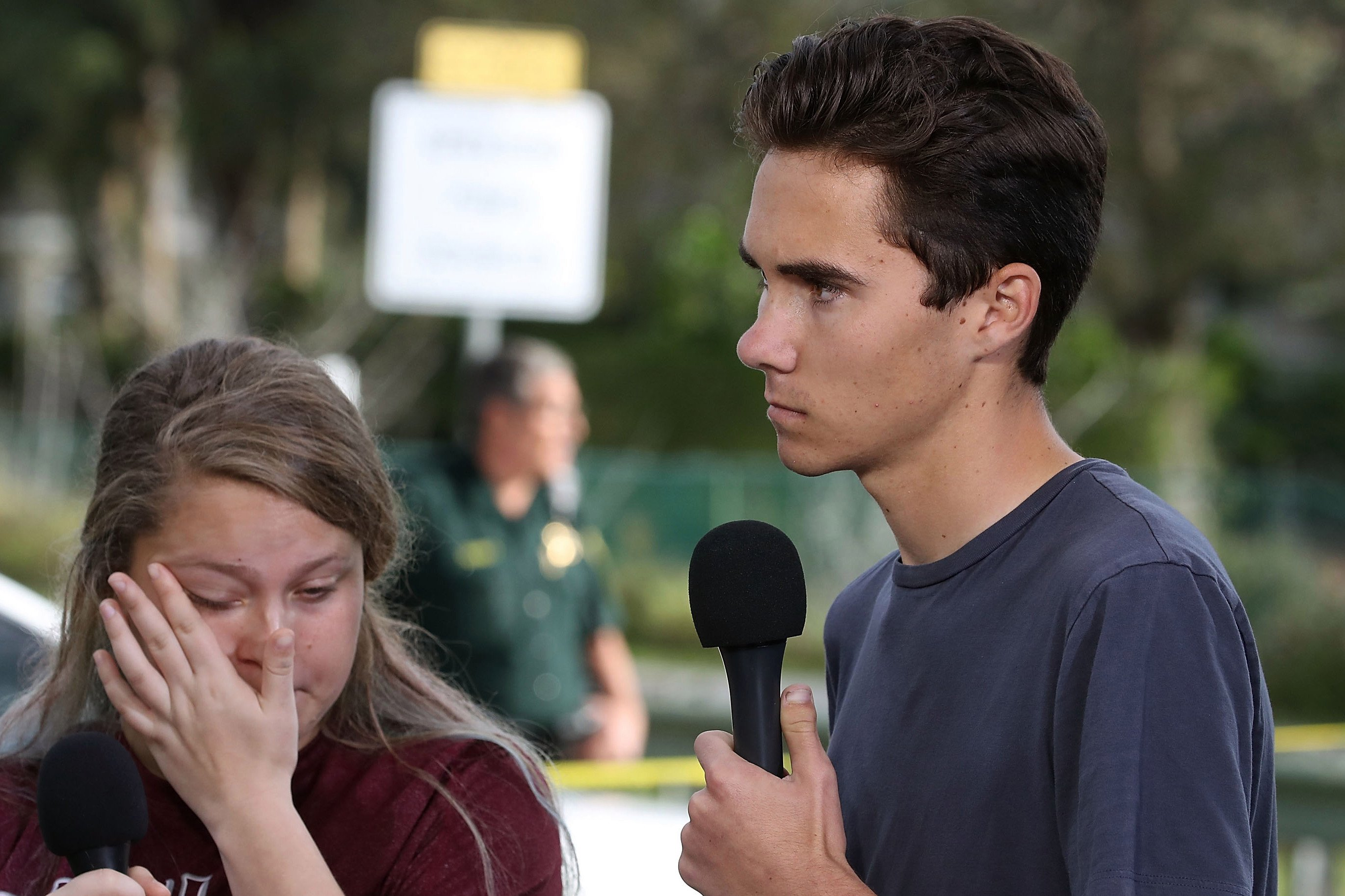 Top video on YouTube accused shooting survivor of being actor