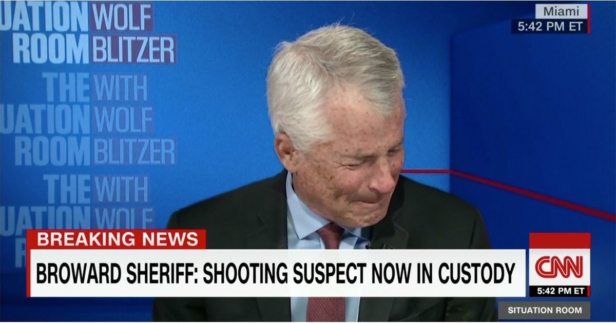 """Former FBI Agent Breaks Down After Florida School Shooting: """"We Cannot Accept This"""""""