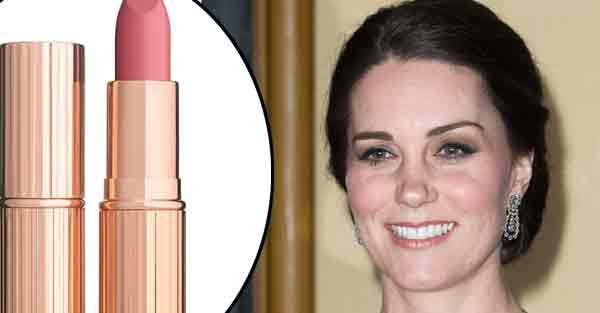 Kate Middleton has just had a nude lipstick named after her by Charlotte Tilbury