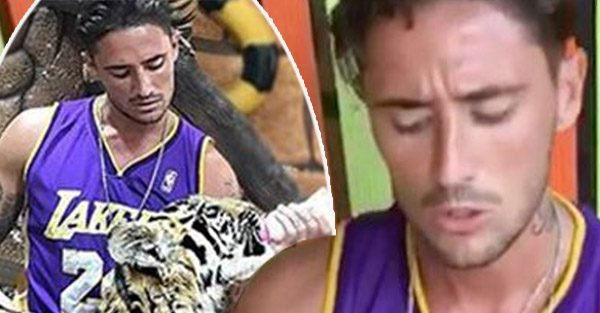 Stephen Bear slammed for 'disgusting' tiger video