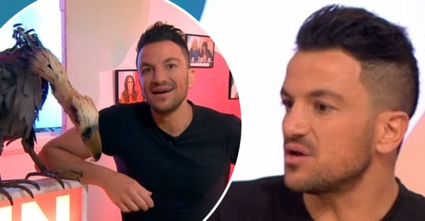 Peter Andre makes embarrassing mistake on Loose Women