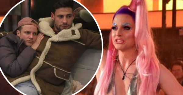 CBB's Courtney Act on Andrew Brady 'love triangle'