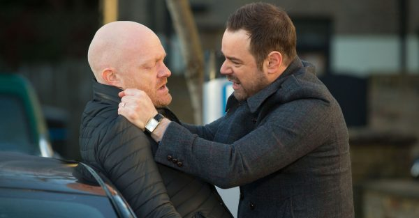 EastEnders: Max Branning and Mick Carter come to blows
