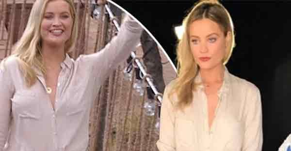 Laura Whitmore suffers annoying wardrobe malfunction on Survival Of The Fittest