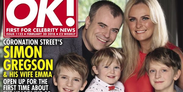 Simon Gregson and wife Emma open up on 12 miscarriages
