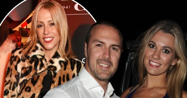 Paddy McGuinness and Nicole Appleton exchanged messages