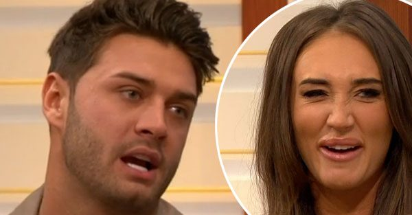 Mike Thalassitis avoids answering Megan McKenna commitment questions