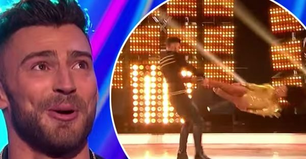 Dancing On Ice: Jake Quickenden puts partner's 'life at risk' during headbanger routine