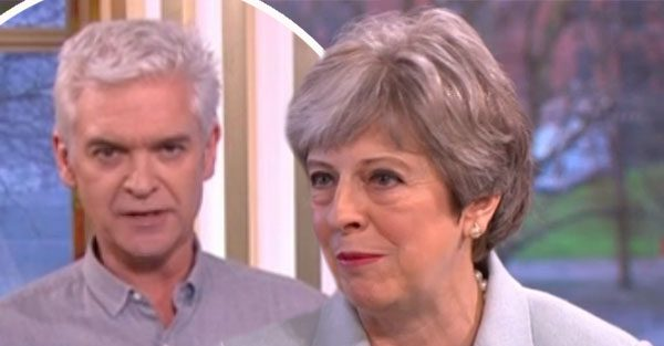 This Morning: Phillip GRILLS Prime Minister Theresa May