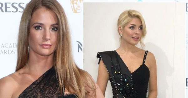 Holly Willoughby's style clash with Millie Mackintosh as Made In Chelsea star hires same stylist