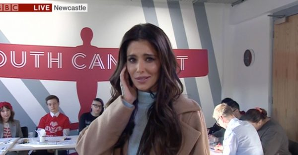 Cheryl suffers technical issues during her chat on BBC Breakfast