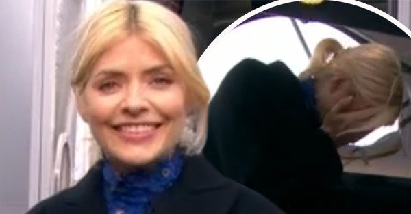 This Morning: Holly Willoughby left red-faced over blunder