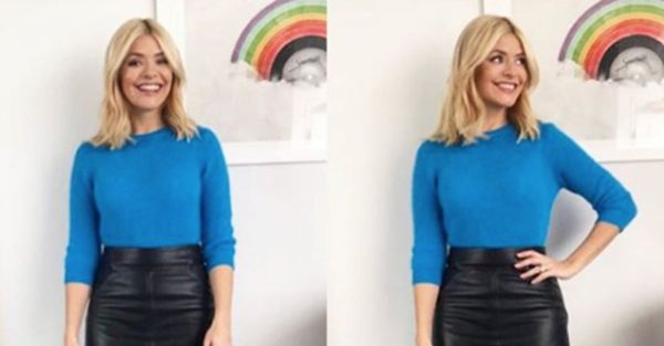 Holly Willoughby plays it safe with latest This Morning outfit