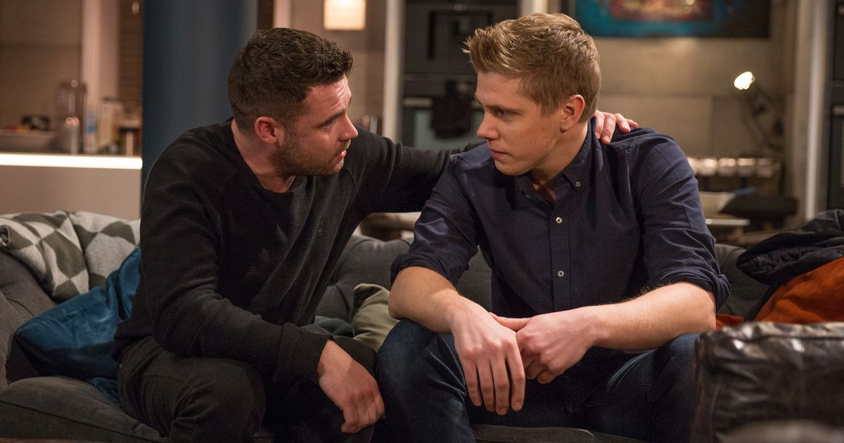 Robert Sugden and Aaron Dingle grow close in Emmerdale Valentine's Day scenes
