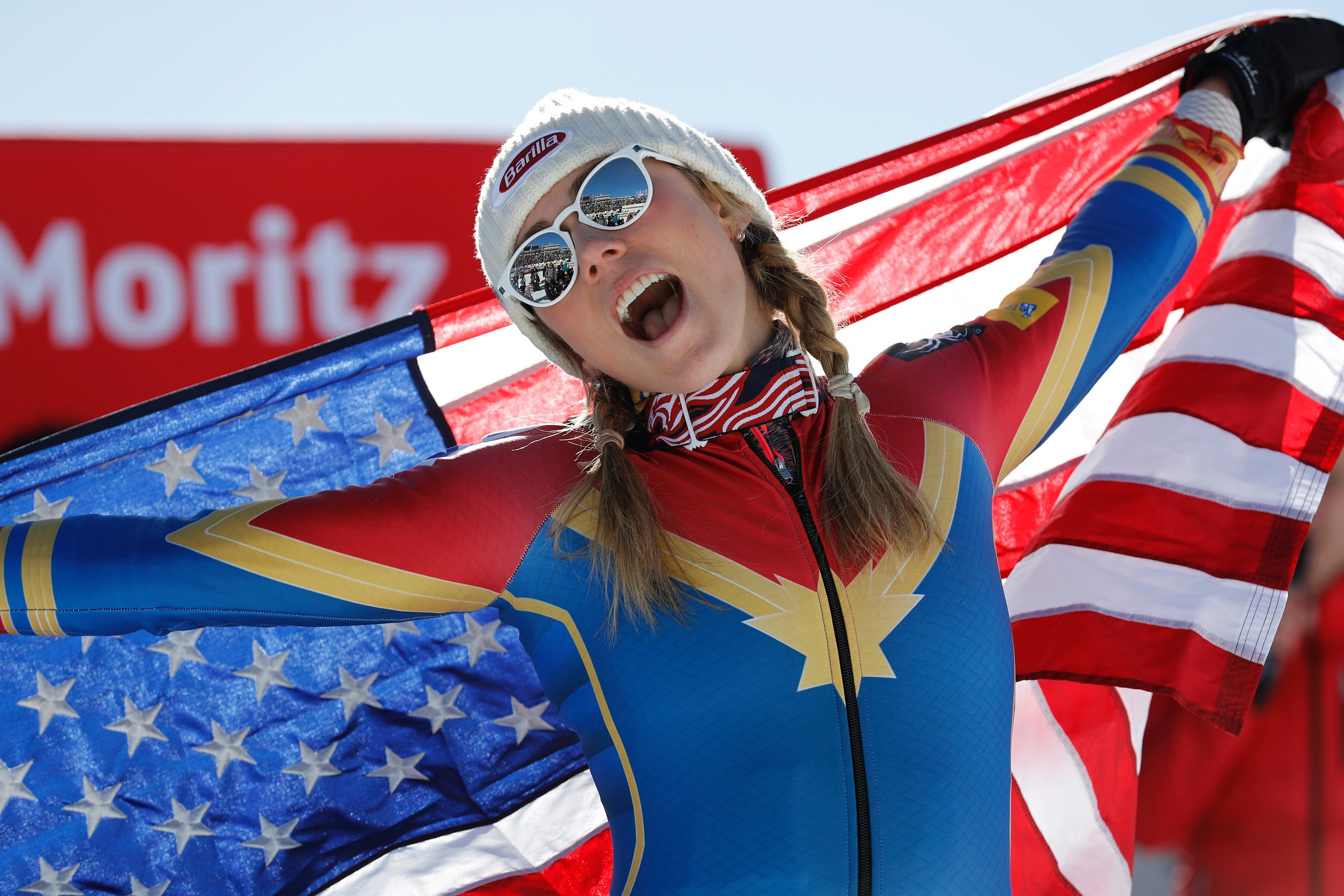 Marvel helps US Olympians look more heroic on the slopes