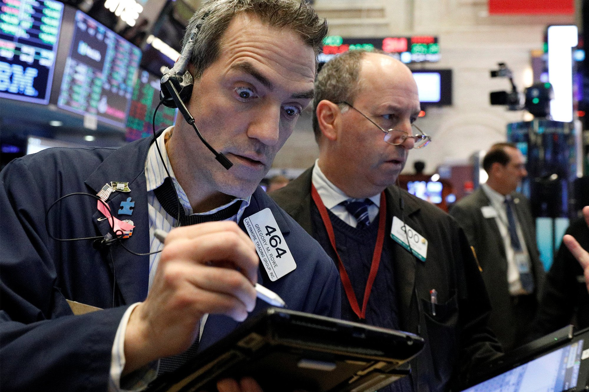 Dow plunges 666 points in biggest drop since Great Recession