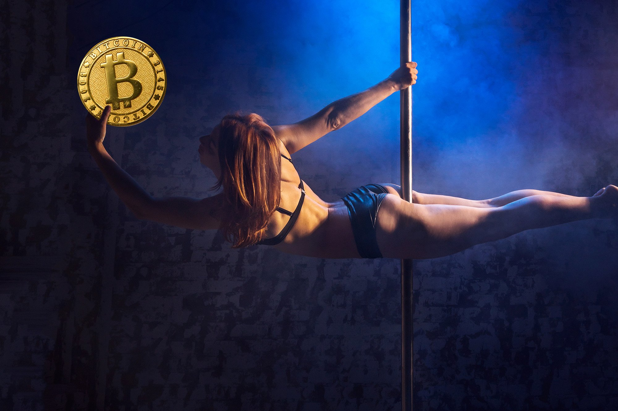 Bitcoin bro doesn't see a problem with strip club event: 'We like naked girls'
