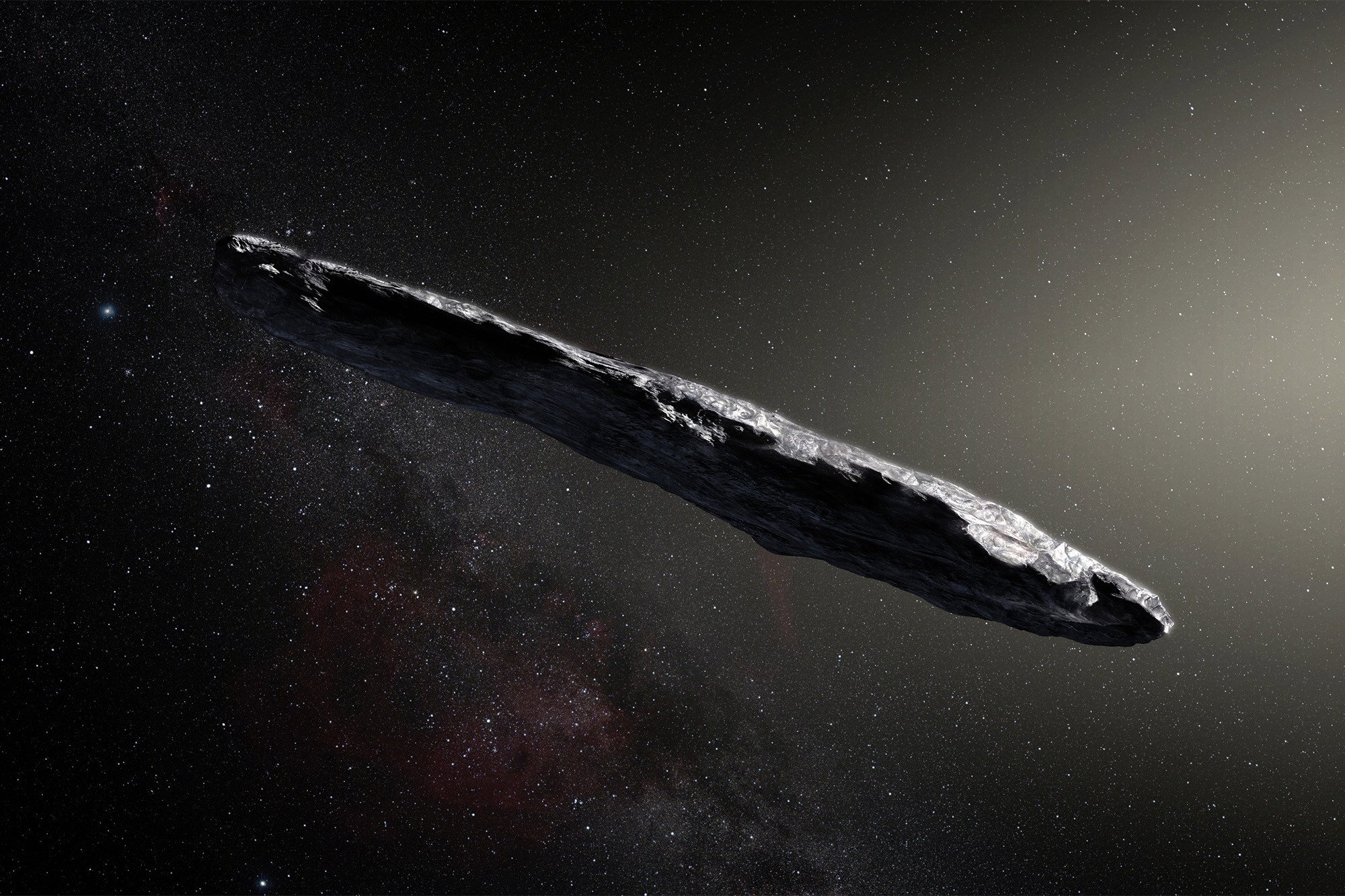 """Space cigar' asteroid is spinning and scientists don't know why"