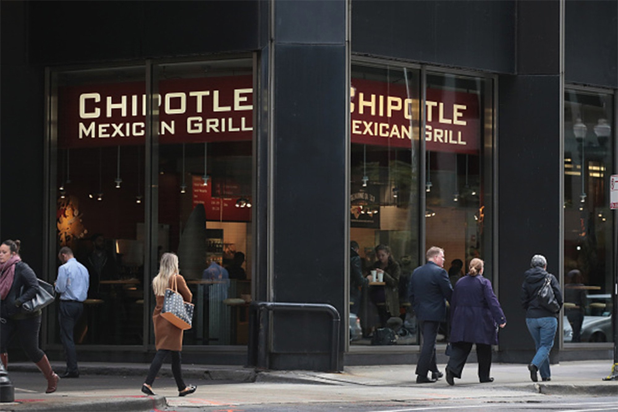 Chipotle stocks jump as investors cheer new CEO
